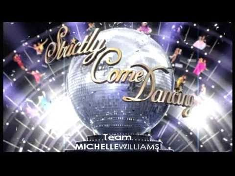 Michelle Williams | Strictly Come Dancing - Series 8 Opening Theme | 2010