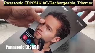 Panasonic ER2051K AC/Rechargeable Beard Hair Trimmer