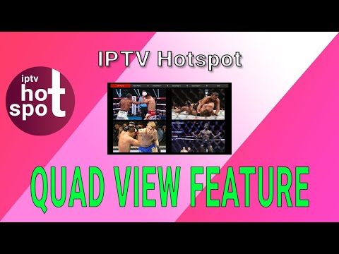 Best IPTV 2020 How to Use Quad View and Search Feature on IPTVHotspot