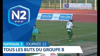 22ème journée - National 2B - Tous les buts thumbnail