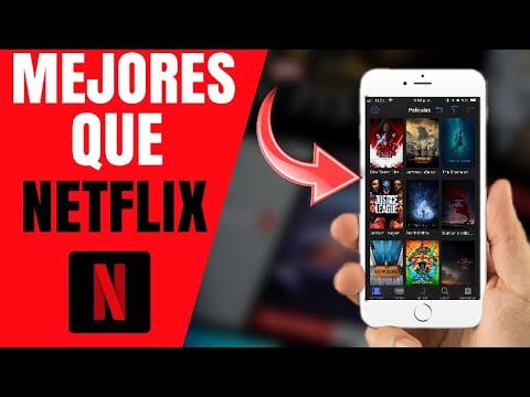 Top 3 Mejores alternativas a NETFLIX 2018  Peliculas y Series gratis para iOS y Android