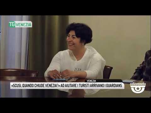 TG VENEZIA (23/04/2019) - «SCUSI, QUANDO CHIUDE VENEZIA?» AD AIUTARE I TURISTI ARRIVANO I GUARDIANS