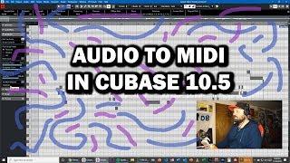 Cubase Quick Tip: Converting Audio to MIDI