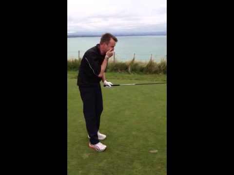 Trick shot with Graeme Swann