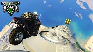 GTA V Online: A RAMPINHA 100% RÁPIDA com MOTOS!!! (MODS)