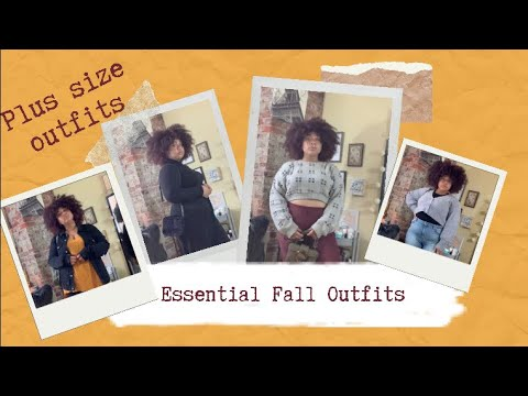 [VIDEO] - REALISTIC PLUS SIZE FALL OUTFITS | FALL OUTFIT IDEAS | PLUS-SIZE FALL LOOKBOOK | PATRICIA 8