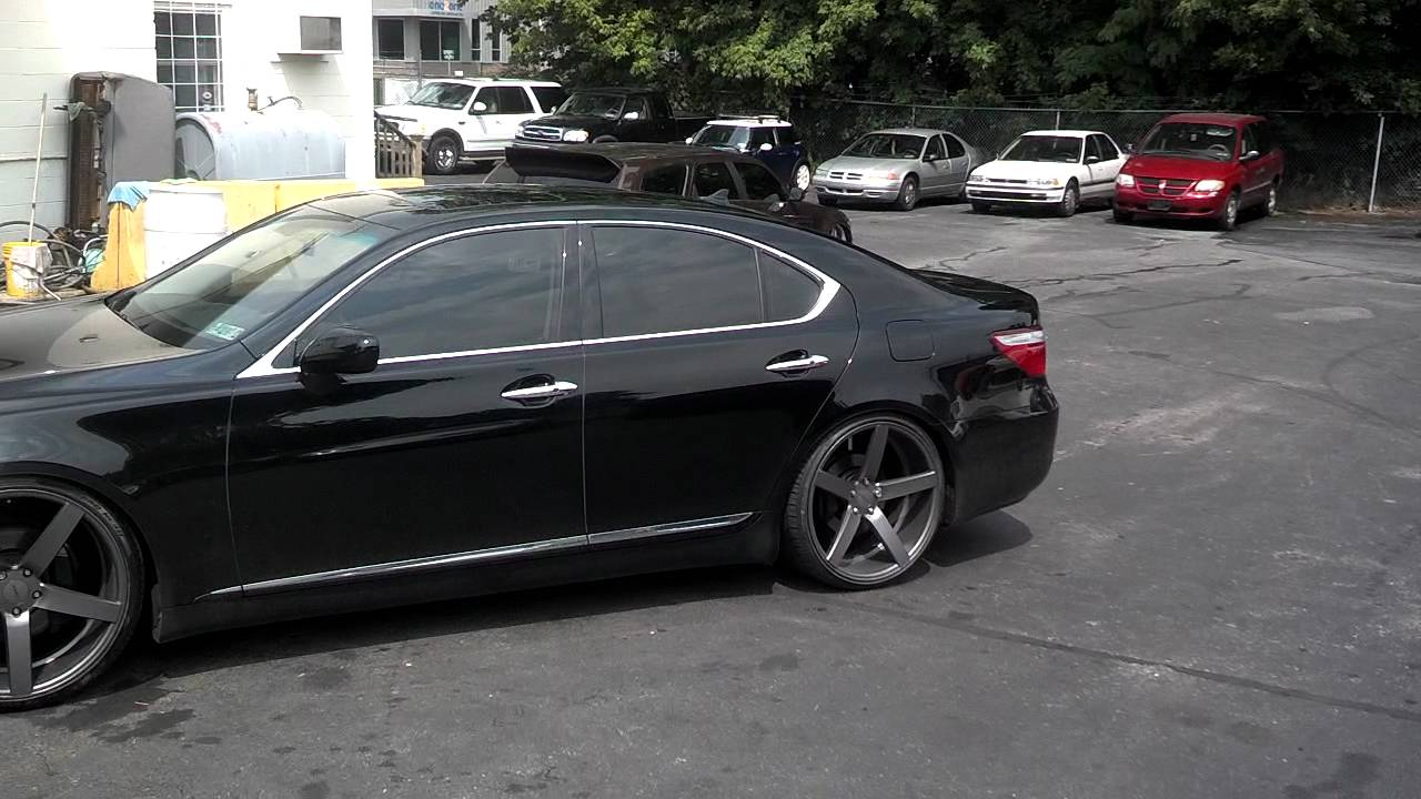 Vossen Wheels On Ls 460 Youtube