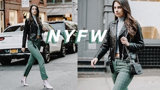 a day in my life | new york fashion week