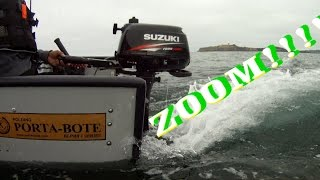 Repeat youtube video PORTA BOTE WITH NEW 2014 TRANSOM