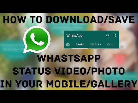 How to save whatsapp status on your iphone (Aug 2017)