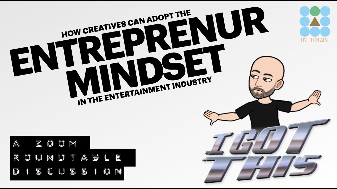 Adopting an Entrepreneur's Mindset in Entertainment and Transmedia - Super Story Vidcast