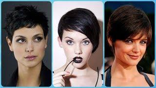 Najmodniejsze krótkie fryzury damskie dla brunetek