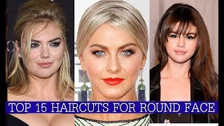 Top 15 HairStyles for Round Face | top 15 Round Face HairStyles for women