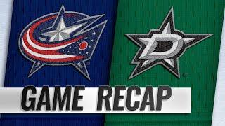 Dubois' goal lifts Blue Jackets past Stars
