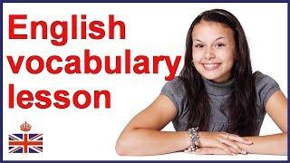 Baixar English vocabulary lesson | English words