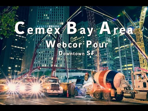 Cemex Bay Area - Downtown SF Webcor Project