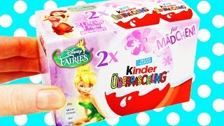 14 Kinder Surprise Eggs Disney Fairies Tinkerbell Kinder Überraschung Fairy
