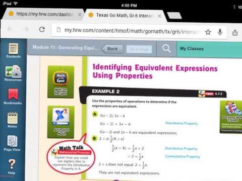 11.3 Generating Equivalent Expressions
