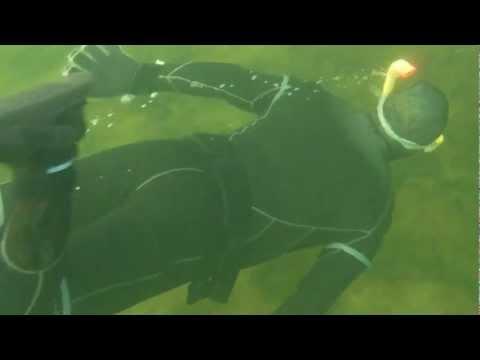 Doug Fox Free Dive, Mevagh Xmas 2012