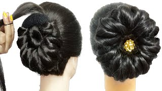 NEW MULTI HEART PETAL FLORAL BUN WITH NEW TRICK