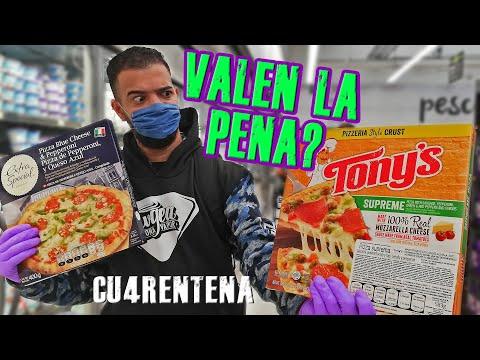 Las Mejores PIZZAS CONGELADAS de MÉXICO para la CU4RENTENA ¿Valen la PENA?