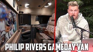 Pat McAfee Reacts to Philip Rivers' Gameday Van