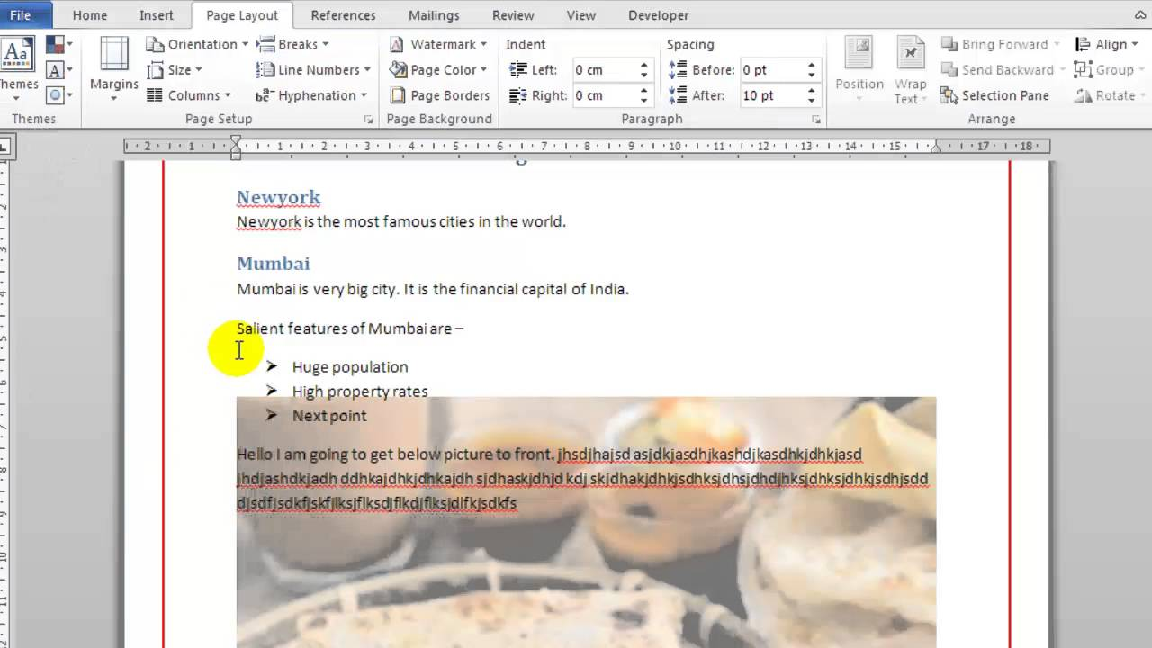 How To Remove Watermark In Microsoft Word Remove A Page