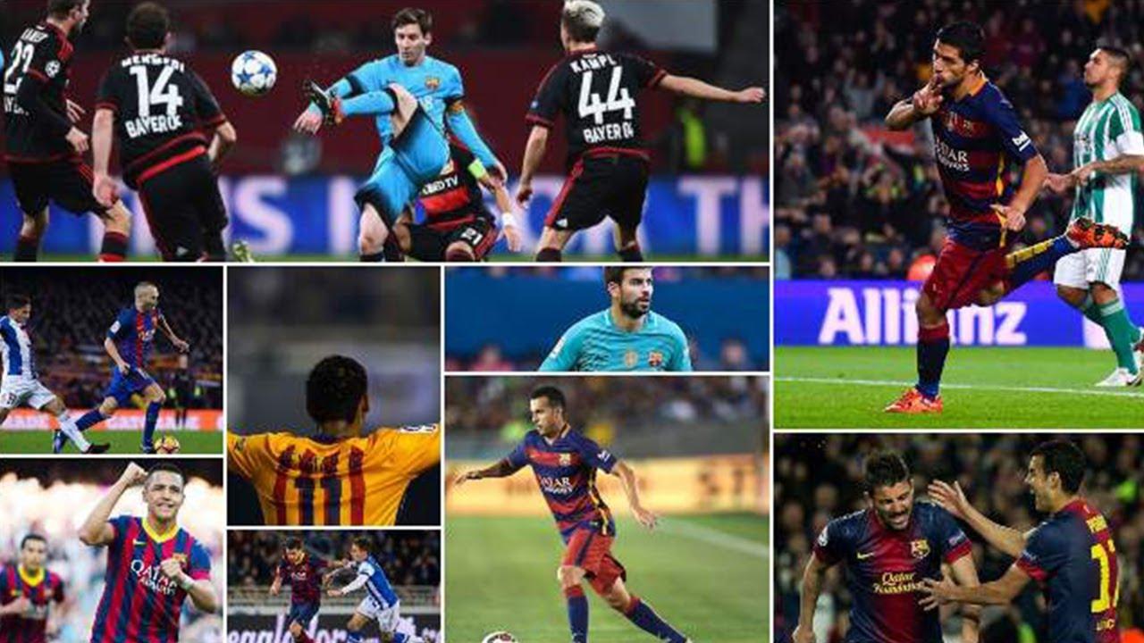 أفضل 10 هدافين في برشلونة خلال العقد الأخير !! لن تصدق من هو الرقم 9