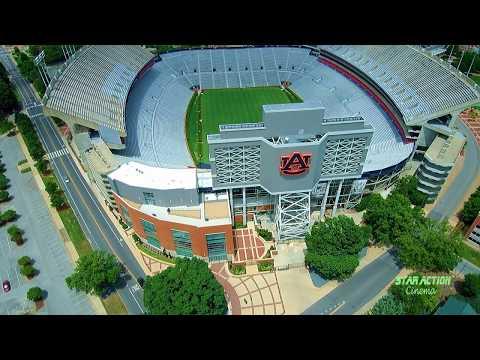 Auburn Alabama - Drone Footage