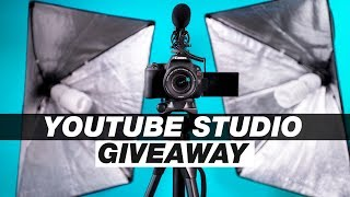 Win A Complete YouTube Studio! (Canon Camera Giveaway 2018)