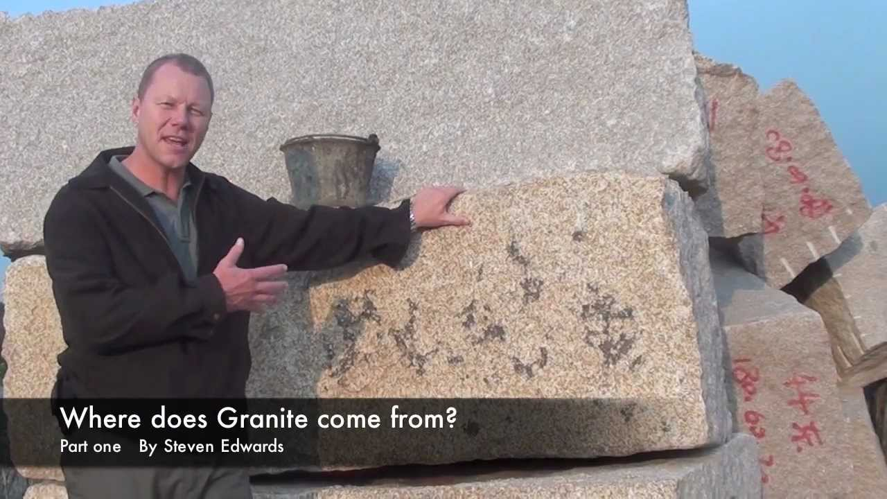 Where Does Granite Pavers Come From Part 1 Youtube