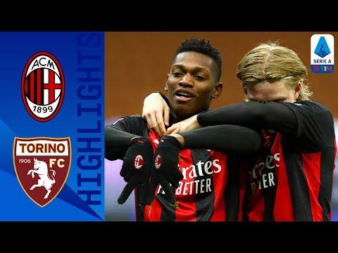 Milan 2-0 Torino | Il Milan non sbaglia e conquista i 3 punti | Serie A TIM