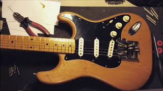 Duesenberg Multibender Installation Test Slide Guitar Stratocaster