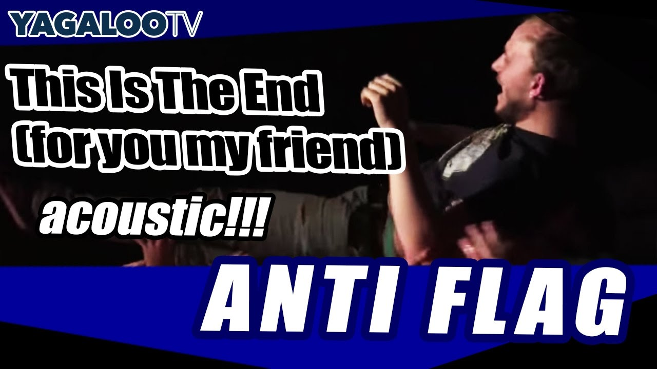 Concert Review: Anti-Flag (acoustic, 2016) – Better Zombie ...