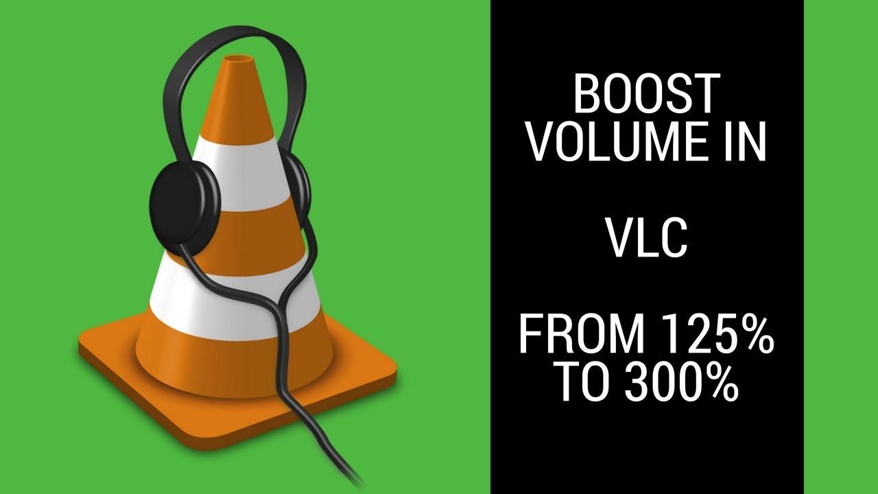 vlc volume not working