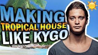 Making TROPICAL HOUSE like KYGO in 2 minutes (FL Studio Tutorial)