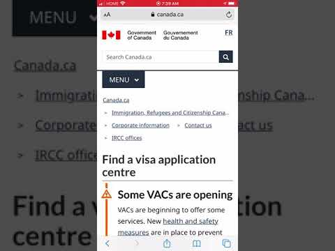 How To Find If Your Visa Application Center For Canada Is Open Or Not
