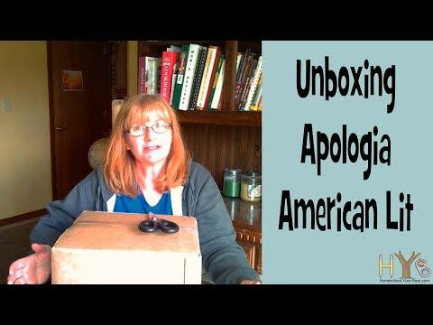 Apologia American Literature Unboxing Video