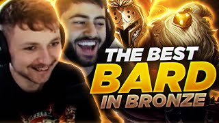 AM I THE BEST BARD IN BRONZE?!?!? (Ft. Yassuo) | Sanchovies