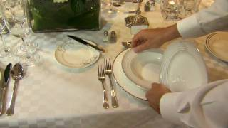 How To Set A Formal Dining Table - Part 2