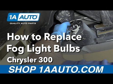 How to Replace Install Fog Light Bulbs 2006 Chrysler 300 Buy Quality Parts from 1AAuto.com