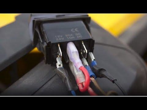 utv upgrades canam commander 1000 winch install pt 2/2 winch wiring  overview