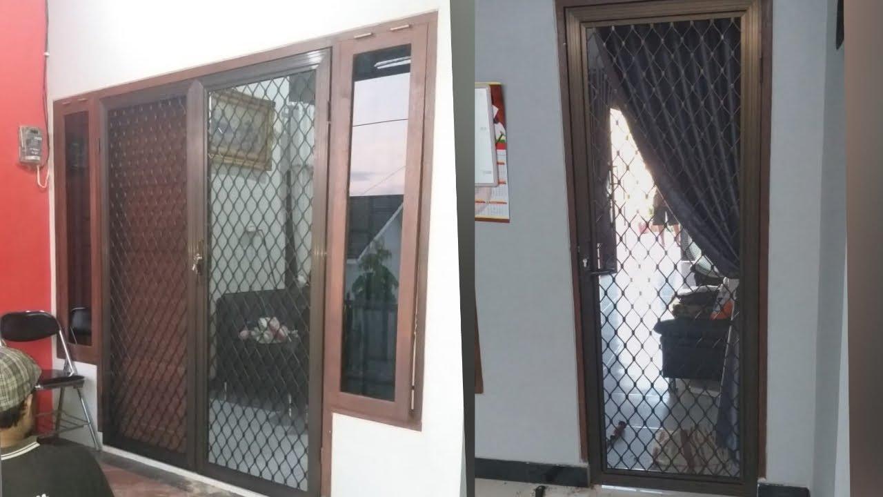 Pintu Kasa Nyamuk Aluminium Jendela Aluminium Bogor 0813