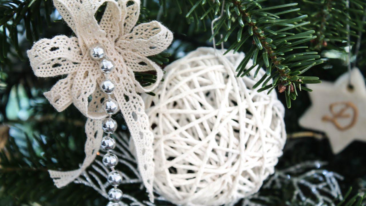 Yarn Ornaments Christmas