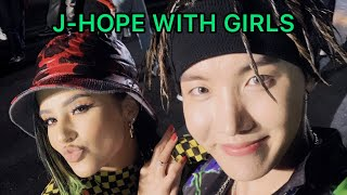 BTS JHOPE WITH GIRLS HD