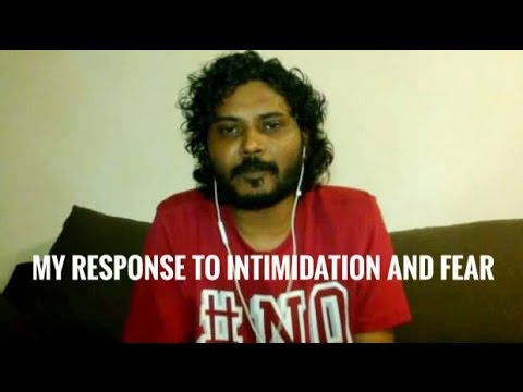 My reponse to intimidation and fear (#FikuryIngilaab Ep. 15)