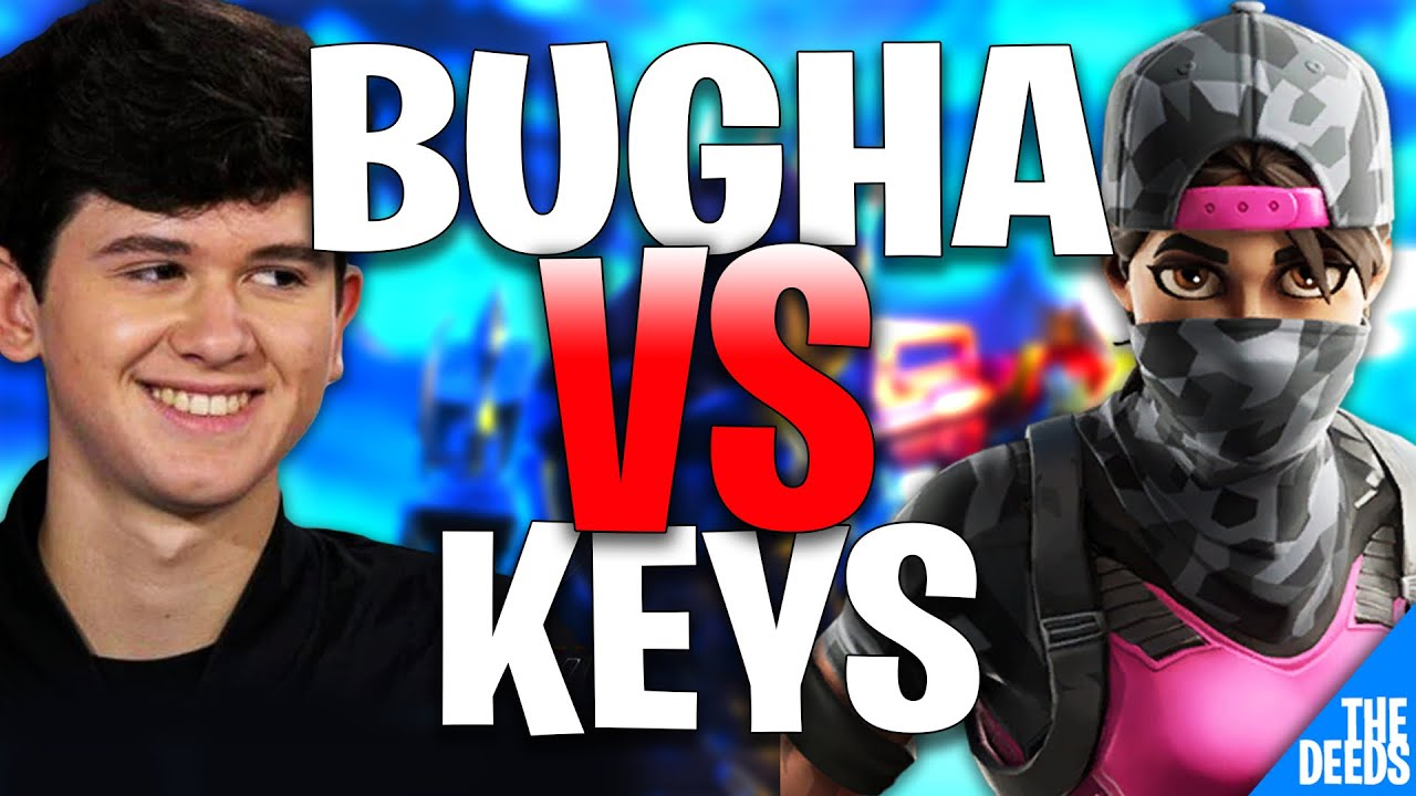 SEN Bugha 1 VS 1 Keys | Creative 1v1 *INSANE NA BUILD BATTLES*