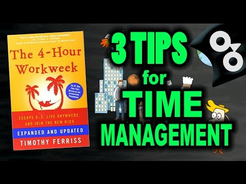 HOW TO GET MORE DONE IN LESS TIME — The 4 Hour Work Week — Animated Book Review