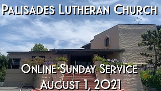 Welcome to PLC Sunday Service 8.1.21