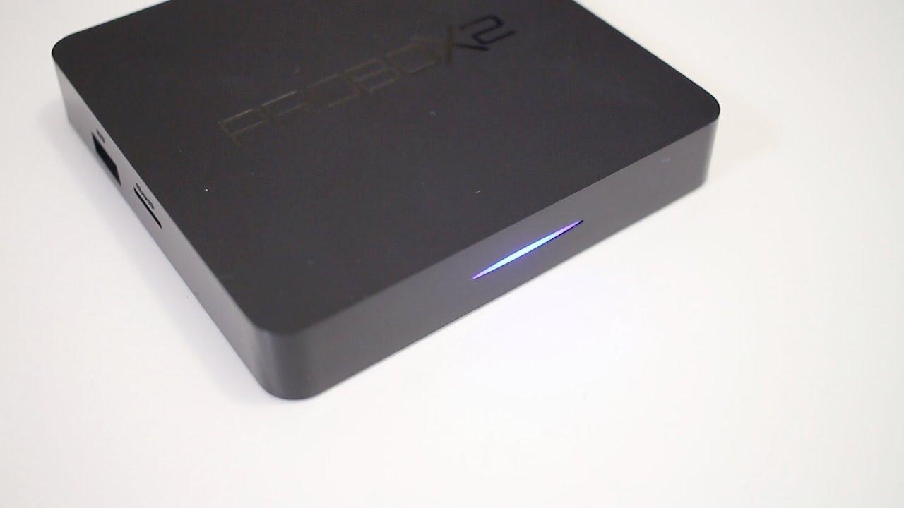 מאוד PROBOX2 Air Android TV Box Review - YouTube QP-36
